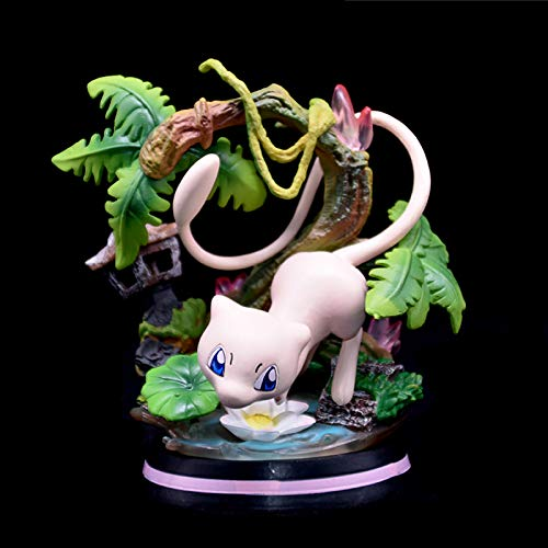 LYIETUR Pokémon-Limited Edition Figure Statue Wartortle Charmeleon Mewtwo Anime Toys Figurine Doll Best Gift Collection Decorations Mewtwo-11 CM