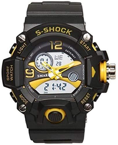 Sports Waterproof Watch, Dual Display Men's Watch Multi-Function, Student Electronic Watch-G