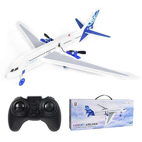 winnerruby Airbus 2,4 GHz Flugzeug Starrflügel Drohne Aeromodelling Fernbedienung Flugzeuge Hochgeschwindigkeits-Langlebige Quadcopter Segelflugzeug Figur