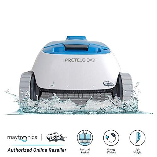 DOLPHIN Proteus DX3 Automatic Robotic Pool Cleaner, The Quick and Easy Way to a Clean Pool, Ideal...