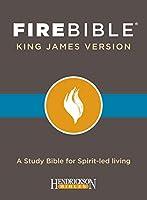 KJV Fire Bible: Black Bonded Leather Edition
