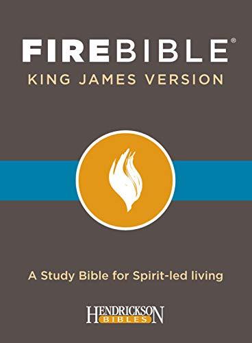 KJV Fire Bible, Black Bonded Leather Ed.: Black Bonded Leather Edition