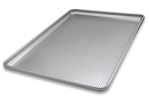 USA Pan 1056HS-1 Bakeware Heavy Duty Extra Large Sheet Warp Resistant Nonstick Baking Pan, Aluminized Steel