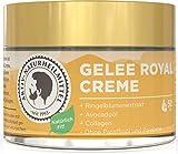 Aktiv Naturheilmittel Gelee Royale Anti Aging Hautcreme & Gesichtscreme 50ml | Frei von Parabene & Paraffine mit Collagen | Rein, Hochwertig und 100% echt aus Deutschland