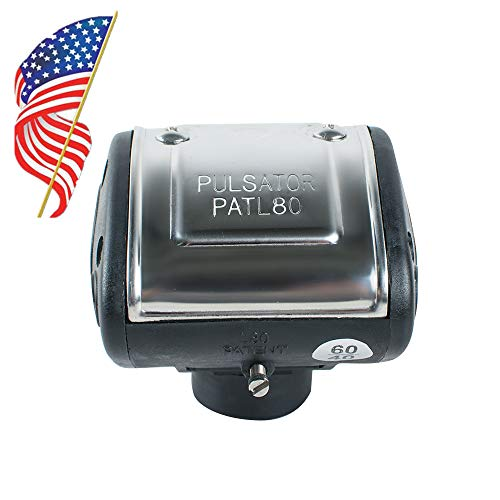 Portable L80 Pneumatic Pulsator for Cow Milker Machine Dairy Farm Milker
