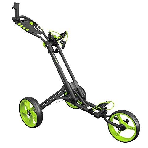 ICART un 2017 3 Roue Chariot de golf - gris / Vert