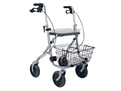 Drive Medical, Rad 190/50 Standard Rollator Migo, silber von Drive Medical