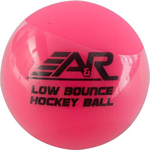 A & R Sports geringer rücksprung Street Hockey Ball, Rose