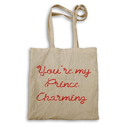 INNOGLEN Du bist mein Prinz Charming lustige Neuheit Tragetasche e993r