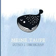 Meine Taufe Gästebuch Mit Fragen Erinnerungsalbum Zur
