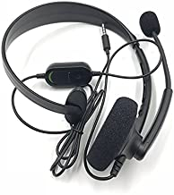 Replacement Black Wired Chat Chatting Gamer Headset Headphone With Mic Microphone For Xbox One Slim Xbox One S
