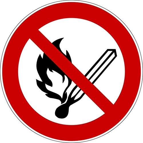 Aufkleber Verbotszeichen Schild