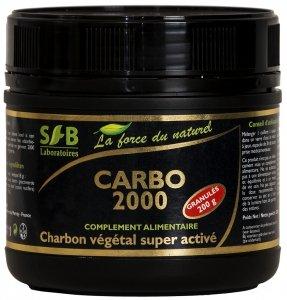 Charbon végétal super activé en granulés - 200 g