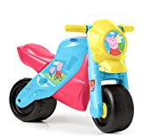 FEBER - Motofeber 2 Peppa Pig, correpasillos resistente con claxon, ruedas anchas, uso dentro y fuera de casa, favorece el desarrollo global y psicomotriz del niño de 3 a 5 años, FAMOSA (800013184)