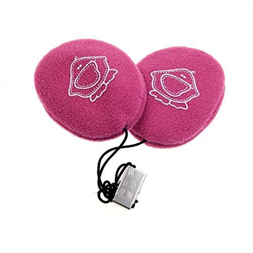 Earbags Kinder Ohrenwärmer Kids, Kinder Ente rosa, S, 824