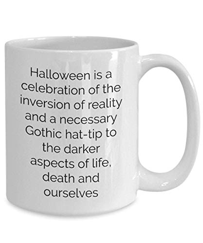N\A Scary Spooky Halloween Coffee Mug Treat Pirate Haunted House Niños Esqueleto Calabaza Truco Regalo Zombie Disfraz Bruja Fantasma