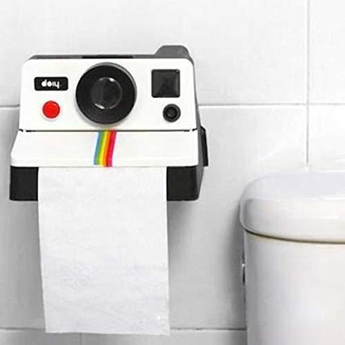 Forart Toilettenpapierhalter Retro-Kamera Toilettenpapierhalter Retro-Kamera Kanisterabdeckungen