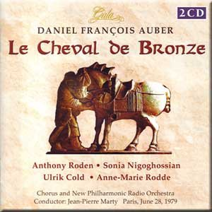Auber - Le Cheval de Bronze - Marty (2 CD Set)