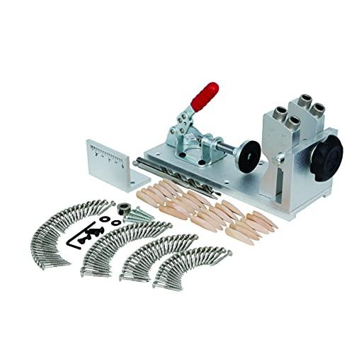 VINWOX Pocket Hole Jig System – Adjustable Woodworking...
