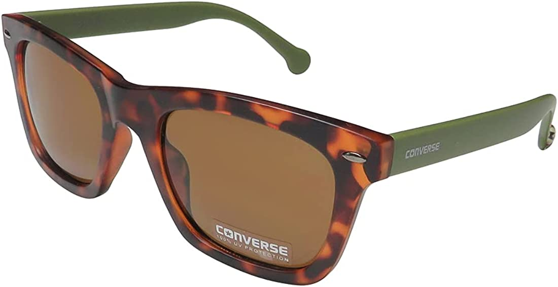 Converse Women's H071 Square mm Outstanding Tortoise Sunglasses 55 Challenge the lowest price