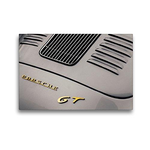 CALVENDO Premium Textil-Leinwand 45 x 30 cm Quer-Format Porsche 356 GT, 1957, 1500 CCM, 120 PS, 180 km/h, Leinwanddruck von Dieter Meyer