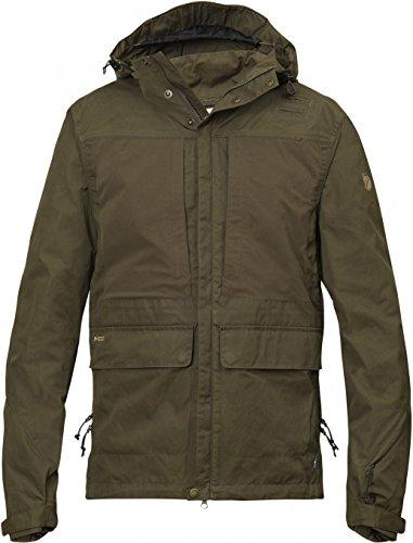 Fjällräven Herren Lappland Hybrid Jacket Softshelljacken, Grün (Dark Olive), M