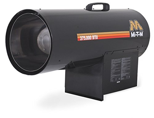 Save %19 Now! Mi-T-M MH-0375-LM10 Propane Forced Air Portable Heater, 225 000-375 000 BTU
