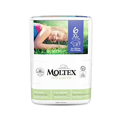 Moltex Pure & Nature Pañales Talla 1-6 (talla 6 XL)
