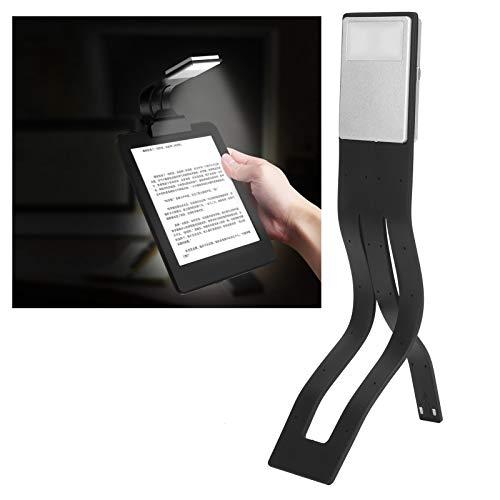 Duokon Luci da Libro Luce da Lettura a Clip, Libro da Lettura Portatile dimmerabile a LED Luce da Collo Pieghevole a 360 Gradi Lampada a Clip Flessibile USB Ricaricabile per Viaggi in Ufficio a casa
