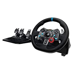 The definitive sim racing wheel for PlayStation 4 and PlayStation 3: Realistic steering and pedal action for the latest racing titles Built to last: Durable solid steel ball bearings, stainless steel shifter and pedals and hand stitched leather wheel...
