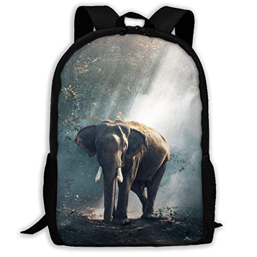 AOOEDM Travel Backpack Laptop Backpack Large Diaper Bag - Elephant Backpack School Backpack for Women and Men