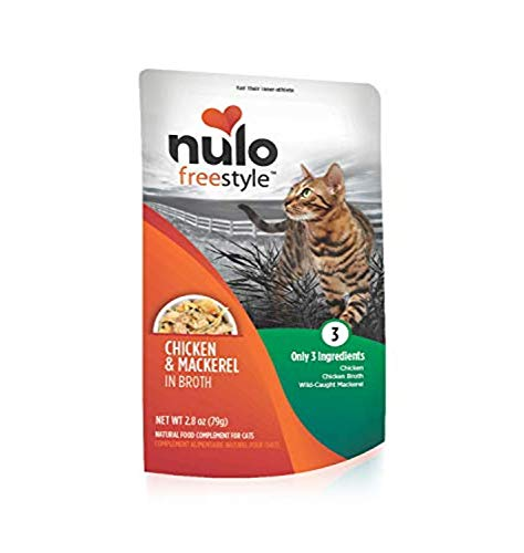 Nulo FreeStyle Topper with Chicken and Mackerel