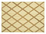 H&H 740855 - Tabla rectangular de madera de bambú, 30 x 22 x 1,5 cm