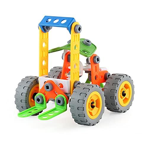 Bruder Fahrzeuge, Demontage-Maschinenfahrzeug Für Kinder, DIY Muttern Montage Und Demontage Schiebestapler, Bruder Bagger Kinder Spielzeug Jungen, Für Kinder & Erwachsene