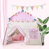 rosemaryrose Zelt Spielhaus 3-4 Kinder Indoor Toy House für Mädchen Geburtstagsgeschenk