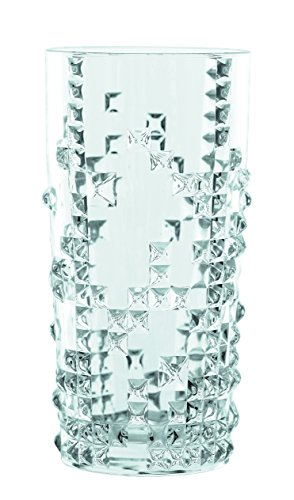 Spiegelau & Nachtmann, 4-teiliges Longdrink-Set, Kristallglas, 390 ml, Punk, 0099498-0