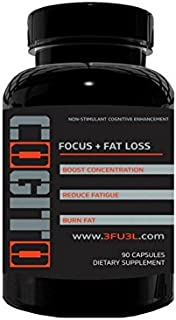 Cogito a Nootropic by SportsFuel, The Makers of 3FU3L | Fat Burner, Reduce Fatigue, Cognitive Enhancer with Green Tea Extr...