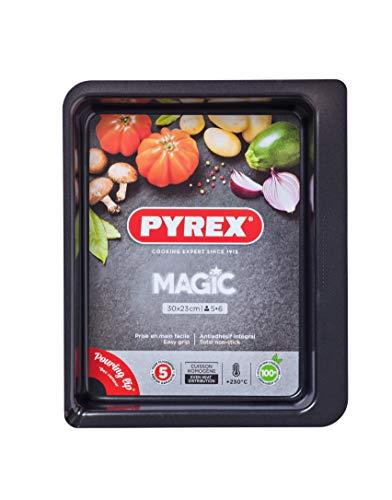 Pyrex - Magic -Plat à Four Rectangulaire en Métal