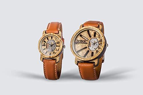 reloj casio parejas fabricante Eclock Relojes Personalizados de Madera