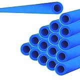 Andreas Dell 16x Trampolin Schaumstoff Rohre Polster 92cm für 8 Stangen Sicherheitsnetz Netz