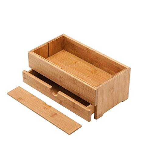 SHYPT Kosmetische Aufbewahrungsbox, Schminktisch Desktop Schmuck Finishing Box, Schublade Art Hautpflege Lagerregal,