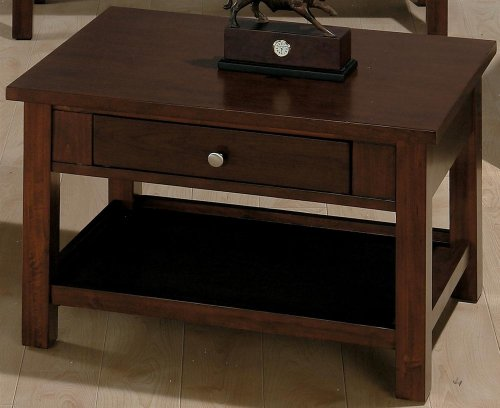 jofran small space rectangle milton cherry wood lift top coffee table sughol445. Black Bedroom Furniture Sets. Home Design Ideas