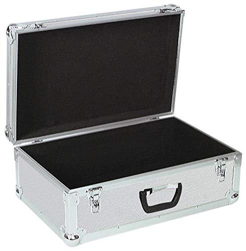 ROADINGER Universal-Koffer-Case Tour Pro alu | Flightcase Tour Pro | Schaumstoffgepolsterter Innenraum