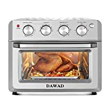 DAWAD Toaster Oven Air Fryer Combo, Countertop Convection Oven with 4 Accessories & Recipes, Easy...