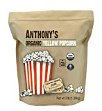 Best Popcorn Kernels - Anthony's Organic Yellow Popcorn Kernels, 3 lb, UnPopped Review