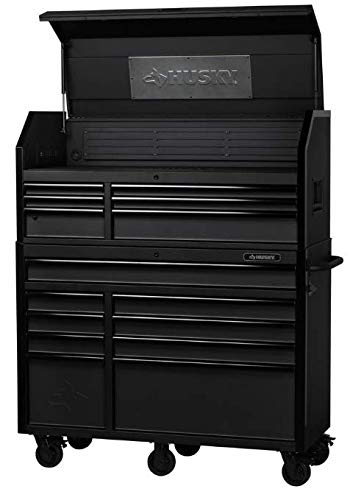 Husky 52 in. W 20 in. D 15-Drawer Tool Chest and Cabinet