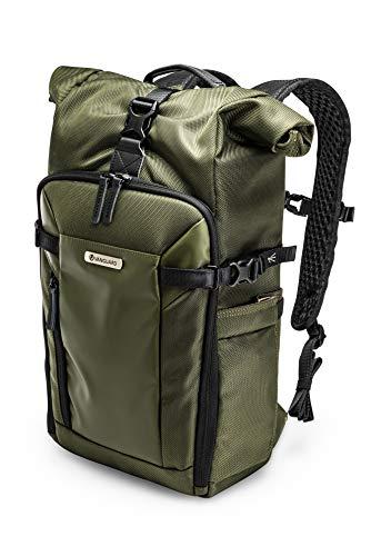 Vanguard Veo Select 43RB GR - Mochila extendible para fotografia profesional, color Verde