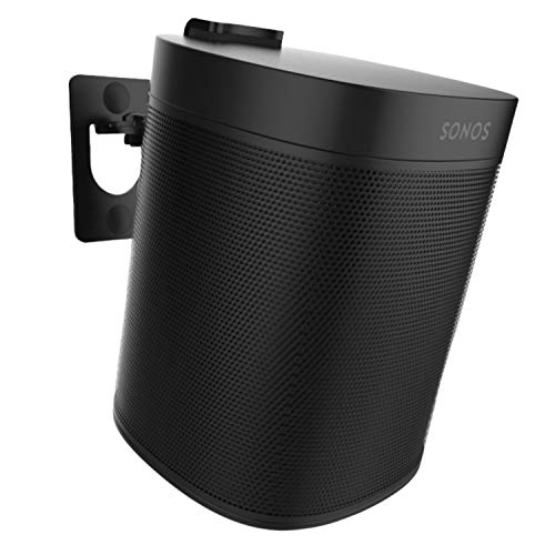 Soporte de Montaje en Pared One, One SL, Play:1 - Negro - Compatible con Sonos One, ONESL y Play:1