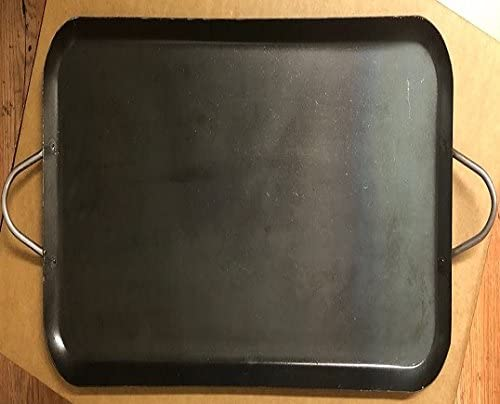 """2021 Made in Mexico Authentic outlet online sale Grerona Mexican Comal Griddle Acero Carbono Square Cuadrado Carbon Steel W/Hanger 2021 15x15"""" outlet online sale"""