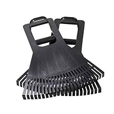 Leaf Claws with Long Reach Leverage Grip for easy pick up of leaves, grass, twigs or other debris - Made In USA - Model P755